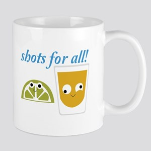 Tequila Shots for All Mugs