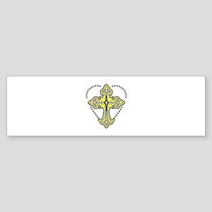 ROSARY Bumper Sticker