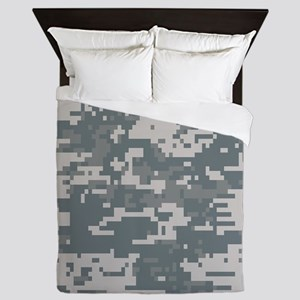 Digital Camouflage Queen Duvet