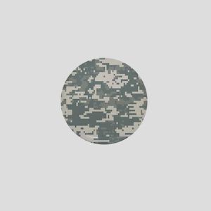 Digital Camouflage Mini Button