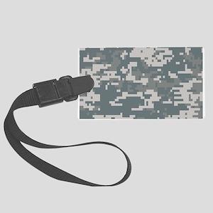 Digital Camouflage Luggage Tag