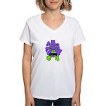 Bad Seed in Prison Women's V-Neck T-Shirt
