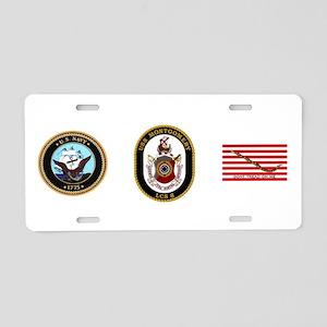 USS Montgomery LCS-8 Aluminum License Plate