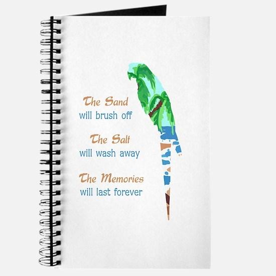 SAND SALT AND MEMORIES Journal