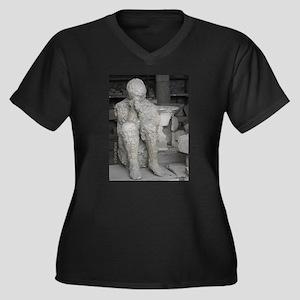 Italy Pompeii volcanic death Plus Size T-Shirt