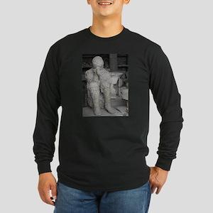 Italy Pompeii volcanic death Long Sleeve T-Shirt