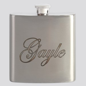 Gold Gayle Flask