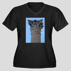 Italy Pompeii column Plus Size T-Shirt