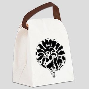 Ball Python Canvas Lunch Bag