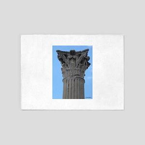 Italy Pompeii column 5'x7'Area Rug