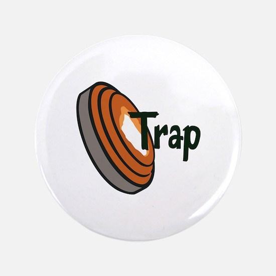 """TRAP SHOOTING 3.5"""" Button"""
