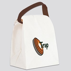 TRAP SHOOTING Canvas Lunch Bag