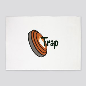 TRAP SHOOTING 5'x7'Area Rug