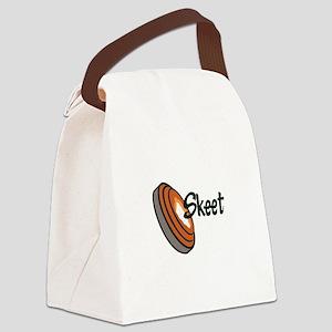SKEET SHOOTING Canvas Lunch Bag
