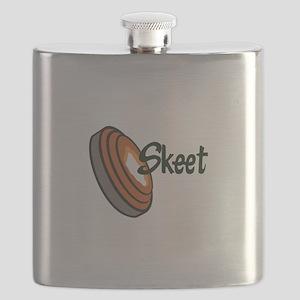 SKEET SHOOTING Flask