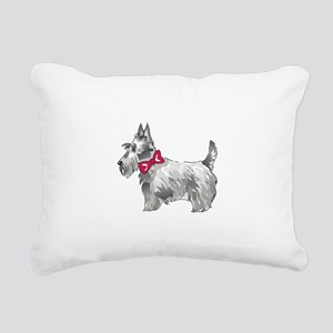 SCOTTISH TERRIER Rectangular Canvas Pillow