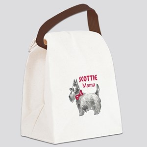SCOTTIE MAMA Canvas Lunch Bag