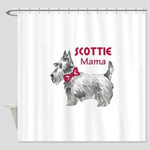 SCOTTIE MAMA Shower Curtain