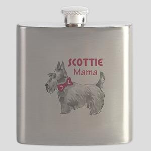 SCOTTIE MAMA Flask