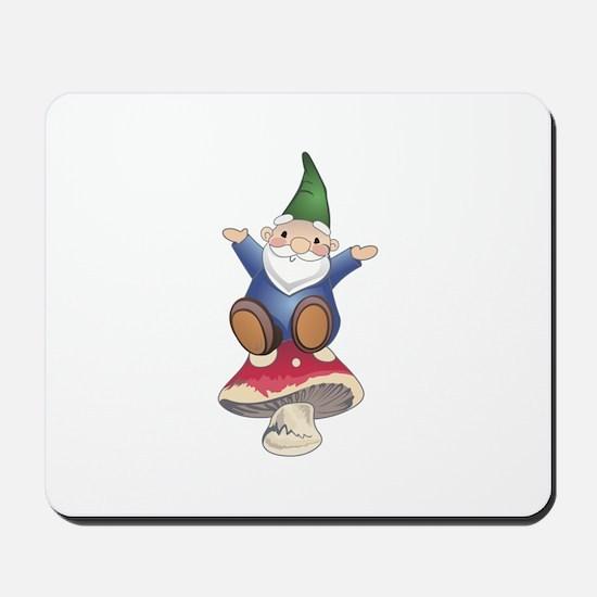 GNOME ON MUSHROOM Mousepad