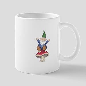 GNOME ON MUSHROOM Mugs