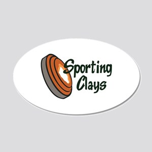 SPORTING CLAYS Wall Decal