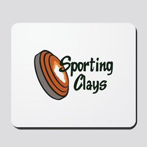 SPORTING CLAYS Mousepad