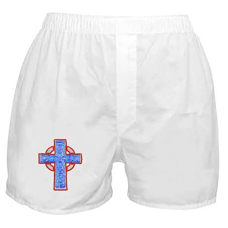 Celtic Cross Boxer Shorts