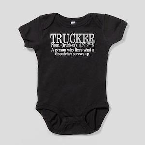 Trucker Definition Baby Bodysuit