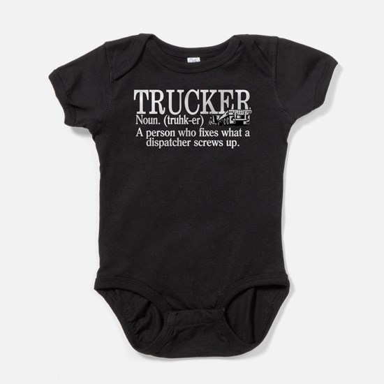 Trucker Definition Baby Bodysuit