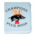 Championship baby blanket