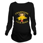 Championship Gold Long Sleeve Maternity T-Shirt