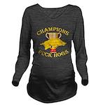 Championship Gold Long Sleeve Maternity T-Shirt
