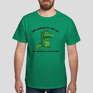 Waiting Gator Dark T-Shirt