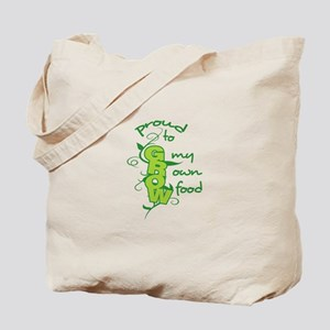 GROW MY OWN FOOD Tote Bag
