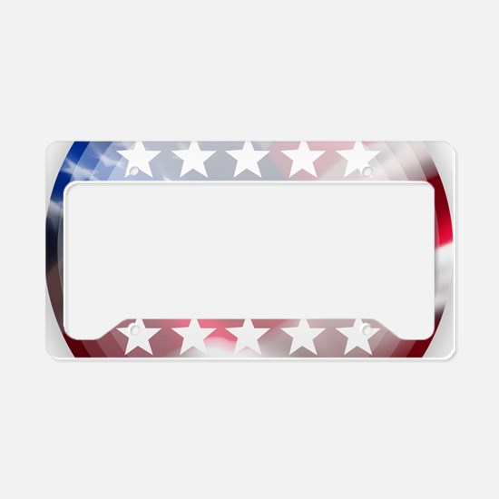 Stand for the Anthem License Plate Holder