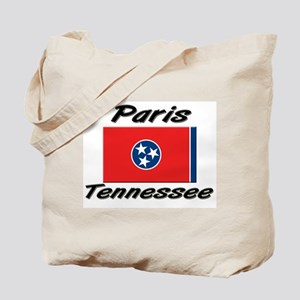 Paris Tennessee Tote Bag