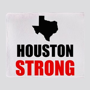 Houston Strong Throw Blanket