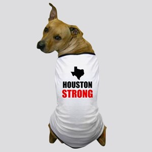 Houston Strong Dog T-Shirt