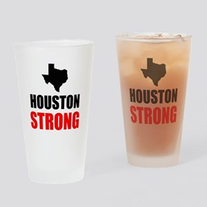 Houston Strong Drinking Glass