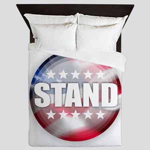 Stand for the Anthem Queen Duvet