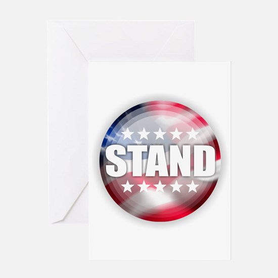 Stand for the Anthem Greeting Cards