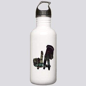 black hands Stainless Water Bottle 1.0L