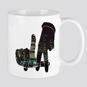 black hands Mugs