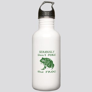 Don't poke the Frog Stainless Water Bottle 1.0L