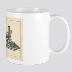 Fast Passenger Locomotive - Class K No.22 Mugs