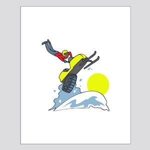 SNOWMOBILE JUMPER Posters