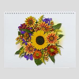 Autumn Bouquet Wall Calendar