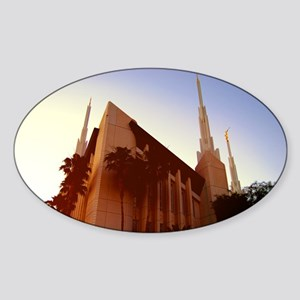 LDS Las Vegas Temple at Sunset Sticker