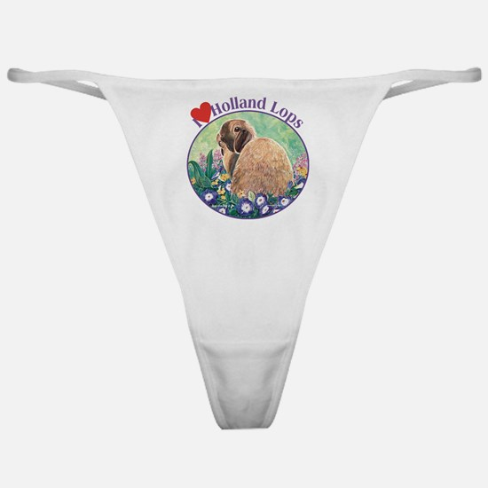 I heart Holland Lops Classic Thong